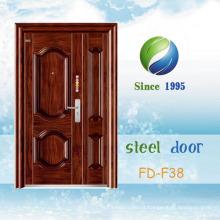 China mais recente desenvolver e projetar porta de segurança de aço único (FD-F38)