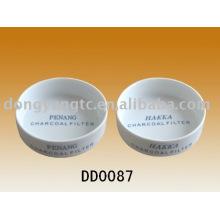 Großhandelspersonalisierter Porzellanzigarettenaschenbecher mit kundenspezifischem Logo