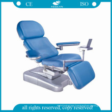 AG-XD101 Linak motor engineer plastic base blood donation bed chair