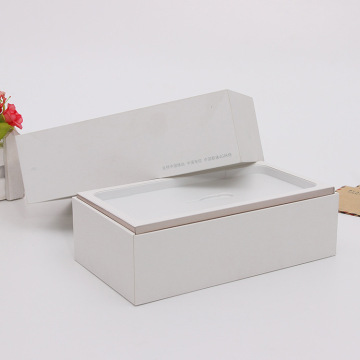 White Coated Paper and Cardboard Phone Packaging Box