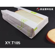 Customized Plastic Bread Bag Paper Bread Bag