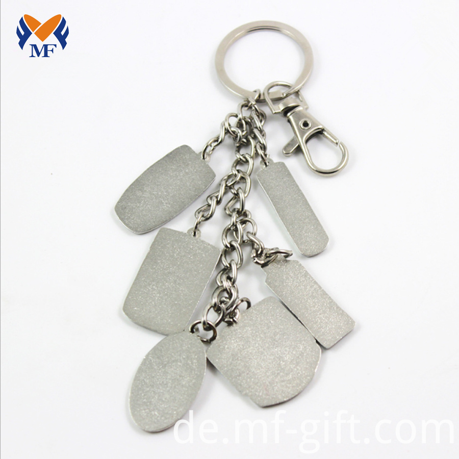 Sublimation Metal Keychain for Sale