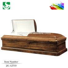 Matt Chocolate peinture blanc intérieur cercueil juif