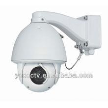 Full HD PTZ de alta velocidad CCTV cámara domo red IP66