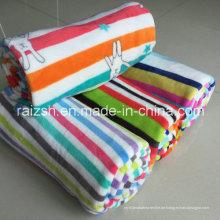 Drucken doppelseitige Korallen Fleece-Pyjamas Komfort Spielzeug Bekleidung Strickwaren