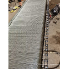 Stainless Steel Compound Weave Belt for Chemical Particals