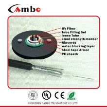 Gepanzerte Faser optische Kabel innen / außen GYXTW