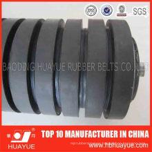 DIN Standard 89mm Tube Abrasive Rubber Ring Impact Idler