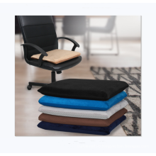 Good quality memory foam velvet thickened chair cushion for office home