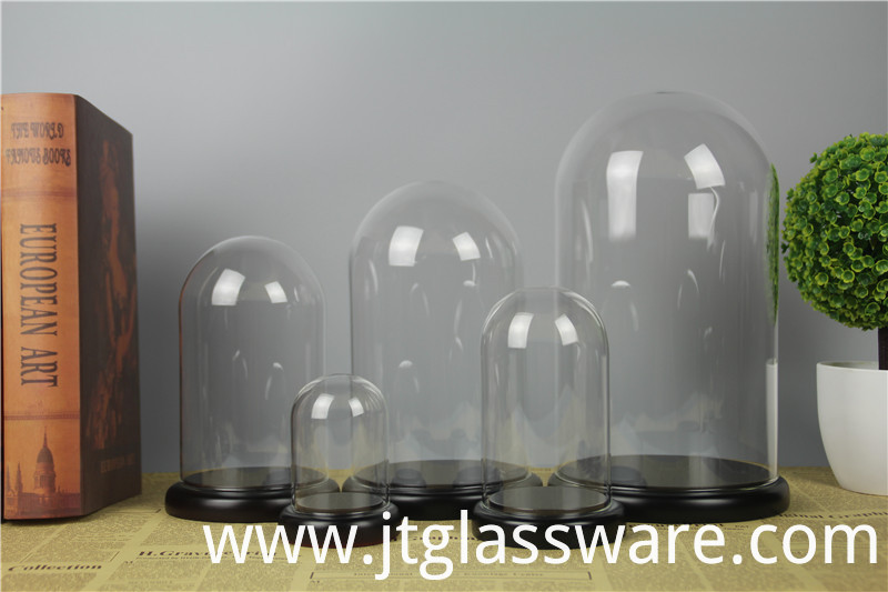 Glass Dome With Base