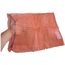Grande Raschel Mesh Bag / embalagem de legumes como batatas, cebolas