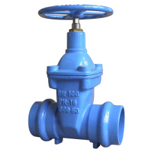 Socketed Ends Resilient Gate Valve, Non Rising Stem