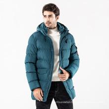 OEM Service Warm Longline Padded Jacket for Winter