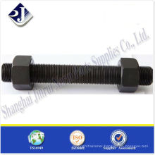 SAE Threaded rod black TS16949 ISO9001