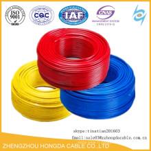 Électrique fil et câble 6mm échantillon gratuit Bonne qualité prix concurrentiel