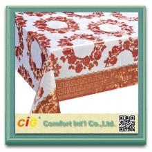 Harga yang murah pvc Jadual kain fabrik