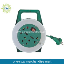 Automatic Retractable Cable Reel with Storage Rack