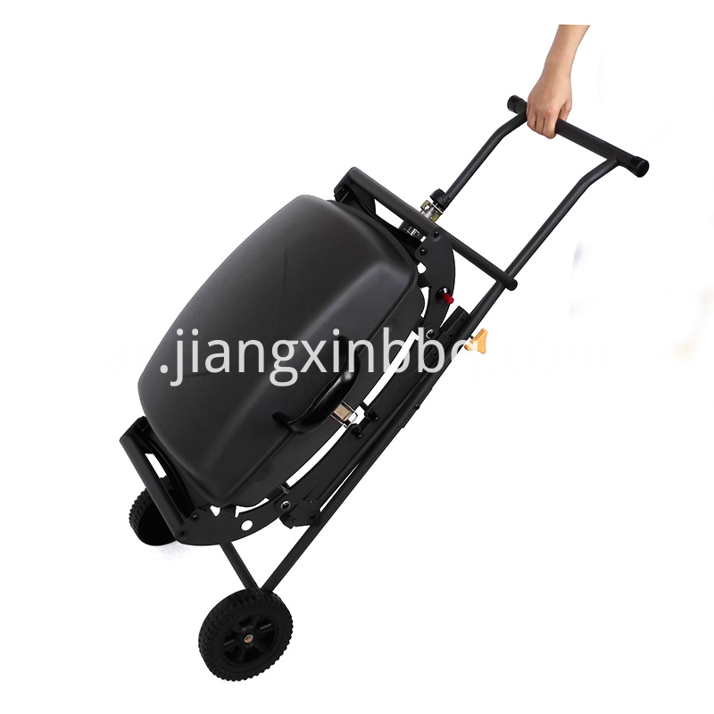 Portable Gas Grill With Trolley