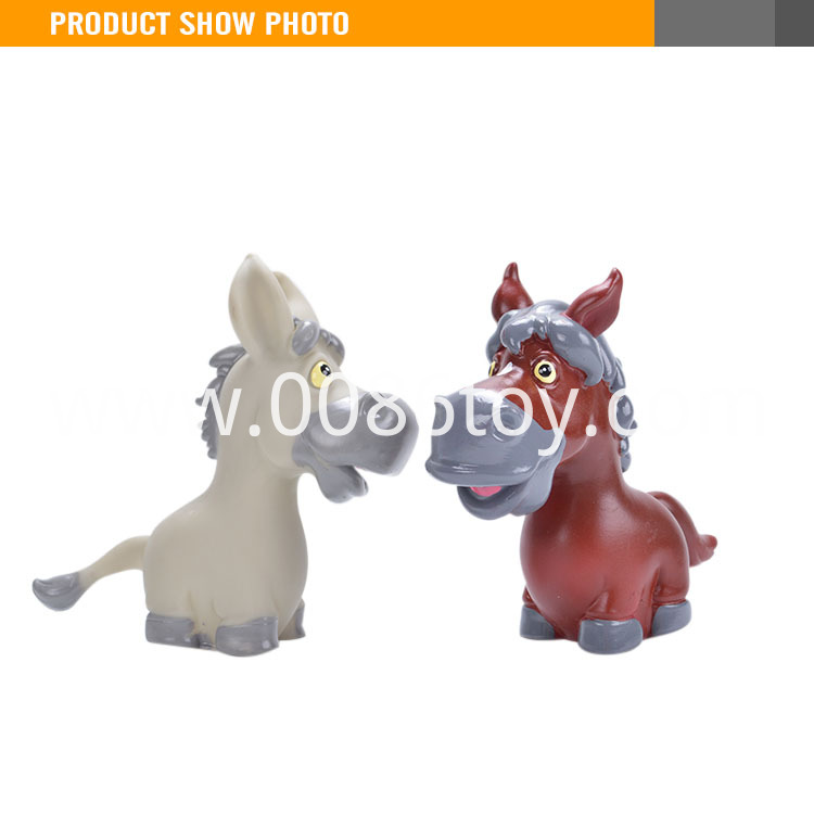rubber horse toy1