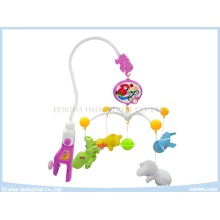 Electric Toys Baby Mobiles with Plush Toys Pandents for Baby
