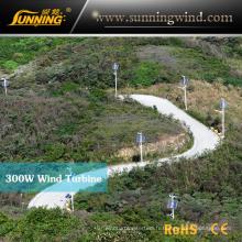 Éclairage LED Park, vent solaire parc d'éclairage