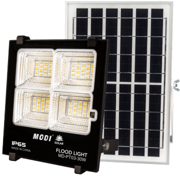 solar powered flood light review