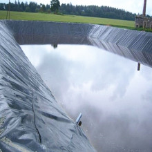 HDPE Geomembranes Used for Fishing Farm