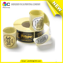 Trade assurance high quality metal adhesive sticker roll