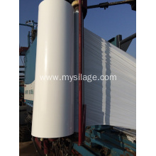 factory low price Used for Haylage Silage Wrap Ensile Wrap Film Width750 White Colour export to United Kingdom Supplier