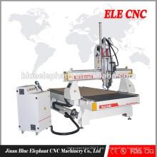ELE 1325 cnc piedra columna máquina de talla enrutador