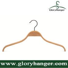 Top-Qualität Sperrholz Kleiderbügel mit Matel Haken