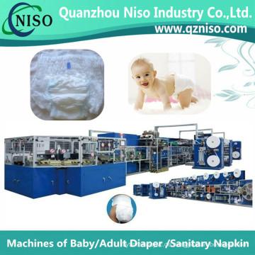 Full-Servo High-Speed-Baby ziehen Hosen Maschine mit CE (YNK500-SV)