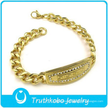 wholesale mens stainless steel bracelets accessories bracelets mens gold plated bracelets
