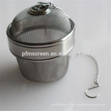 Chine infuseur de boule de thé d'acier inoxydable utilisé pour le filtre de café ou de thé