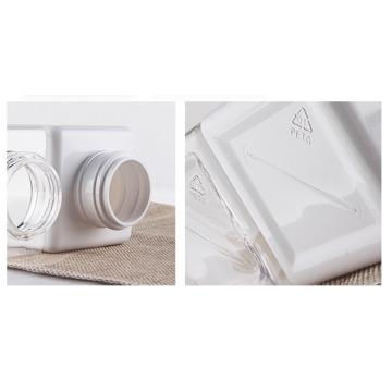 Bouteille cosmétique haute qualité pour animaux de compagnie de 250 ml pour le nettoyage (NB184-1)