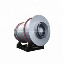 Secador de tambor rotativo de triple cilindro para carbón de arena