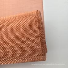 200 Mesh Stock Schalldämmung Leinwandbindung rot Kupfer Abschirmung Net