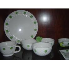 Vajilla de cerámica para uso de restaurante