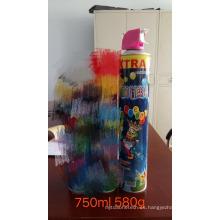 500ml tonto loco y spray de fiesta para Navidad