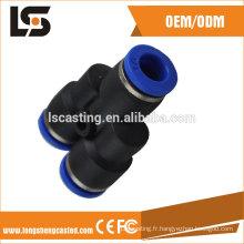 La Chine a fait les accessoires matériels pour les garnitures pneumatiques de tube en plastique