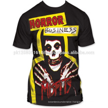 custom print sublimation design t shirt mens top