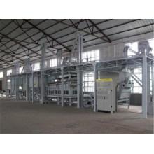 Línea de limpieza y procesamiento de granos de semilla de grano