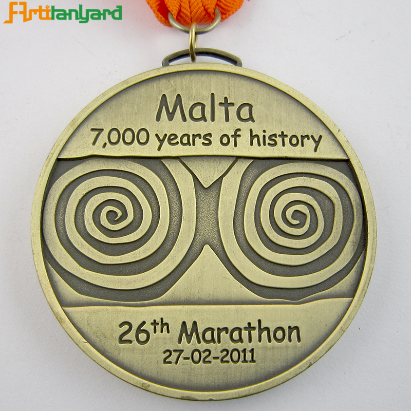 Specialized Logo Metal Medal With Plating