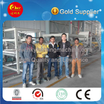 Insulated Usage EPS Sandwich Roofing Sheet Production Line