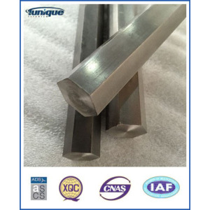 Gr2 Titanium Hexagon Bar