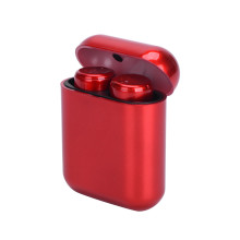 Red TWS Bluetooth Earphones