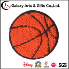 Customized Basketball Embroidery Chenille Patches Iron on Patches for Clothing