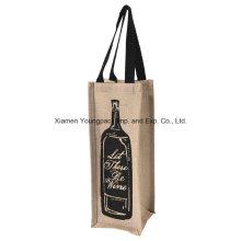 Vente en gros de sacs de porte-bouteille de vin en caoutchouc Custom One