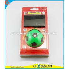 Estilo popular Brinquedo engraçado Brinco verde do futebol Olá Bola de rebote de borracha