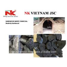 Carvão branco de madeira dura para churrasco / sem faísca, sem cheiro